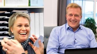 Elisabeth Liljensten på Devicia och Ulf Coxner på Autoconcept är nominerade till Årets företagare 2017.