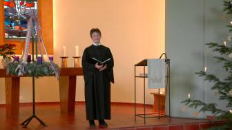 Pfarrerin Annette Hestermann hat eine Video-Andacht zu Neujahr 2021 gestaltet.