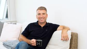 Magnus Wahlgren, en glad och stolt VD berättar att företaget växer!