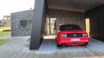 Ford Mustang på tur i Nordjylland - 2