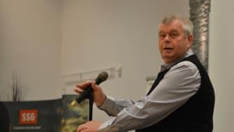 Johnny Jansson, senior rådgivare på SSG, går nu i pension