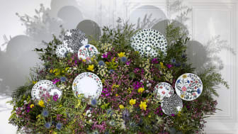 Magical and matchless: the new Rosenthal Collection Magic Garden by Sacha Walckhoff.
