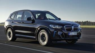 Nya BMW iX3: Uppdaterad elektrisk körglädje med M Sport