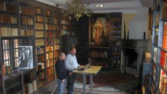 Slottsvisning berättar om nya fynd på Torup slott