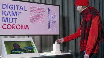 """Tekniskas nya utställning """"Sjukt smart"""" turnerar runtom i Stockholm. Foto: Anna Gerdén-"""