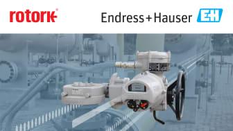 Rotork joins Endress+Hauser Open Integration partner program