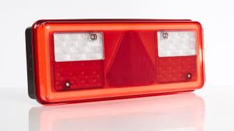 Die LED-Heckleuchten von Ermax werden von einem Gehäuse aus Polycarbonat geschützt. (Quelle: Transport-Teknik A/S)