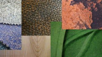 Miljösmarta material på Stockholm Furniture & Light Fair