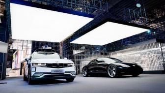 Hyundai Motors utstilling på IAA 2021. Foto: Hyundai