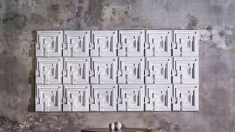 Markelius 01 by Frank Lloyd Wright. Ennis Soundwave by Frank Lloyd Wright