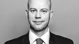 Sebastian Siegl, tillträdande chef för Max Matthiessens Förmögenhetsförvaltning