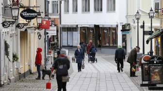Vadstena centrum. Foto Åke Karlsson