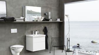 1 april lanserar Geberit tre nya toaletter i populära Ifö Spira-serien.