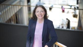 ENGASJERT: Det å øke kvinneandelen i Sopra Steria og i IT-bransjen generelt er en hjertesak for strategi- og HR-direktør Solfrid Skilbrigt. Foto: Hanne Kristine Fjellheim/Sopra Steria