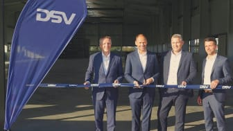 Pressebild: DSV erweitert Dresdner Logistik-Standort