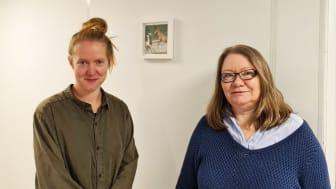 Våre nye prosjektledere Ida Skjefstad og Inger Merete Wold