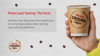 Tensar Ground Coffee Blog - Plate Load Testing: The facts