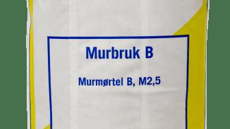 Murbruk B i plastsäck