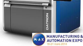 DATRON M8Cube utför höghastighetsbearbetning med små verktyg vilket lämpar sig optimalt vid konstruktion inom hightech, elektronik, flyg samt automobil