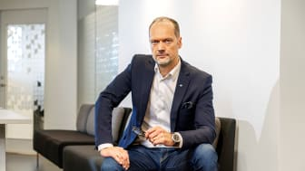 Joakim Henriksson, VD OBOS Sverige.
