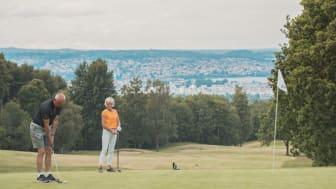 Bild från A6 golfbana i Jönköping