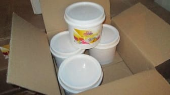 Op Majestic bathroom fragrance tubs used to smuggle tobacco NW02/16