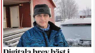 Sixten Jensen, Sveriges nordligaste invånare. Bild från dn.se