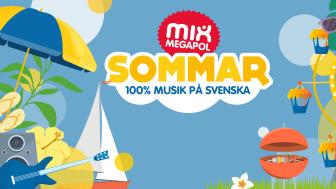 Mix Megapol lanserar nytt sommarkoncept