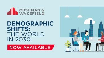 """Den nya globala rapporten """"Demographic Shifts: The World in 2030"""" från Cushman & Wakefield belyser olika intressenters behov av att förstå hur fastighetsmarknaden påverkas av generationerna och hur mn positionerar sig för att maximera möjligheterna."""