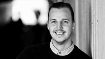 Johan Bolander, nyanställd på Curious Mind i Göteborg