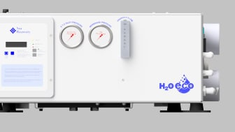 Fischer Panda UK has strengthened its range of Parker watermakers with the new H20 ECO Energy Recovery system