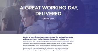Die neue Lyreco Corporate Website ist nun deutlich responsiver
