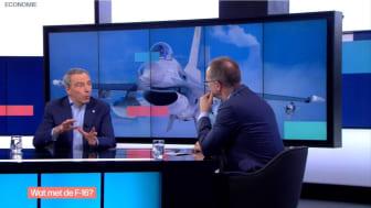 Remplacement des F-16 : l'Etat porte désormais une grande responsabilité pour les entreprises belges