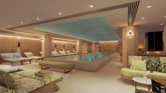Skissbild Elite Palace spa