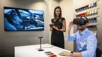 Audi satsar på Virtual Reality i bilhallen