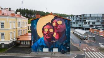 Sepen teos valmistui Jyväskylässä. Kuva: Niki Rutanen.
