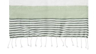 Hamam handduk ECO 90 x 170 cm, grön