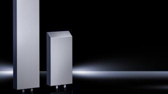 De nya luft/vattenvärmeväxlarna i Hygienic Design utförande från Rittal är idealiska för livsmedelsindustrin.
