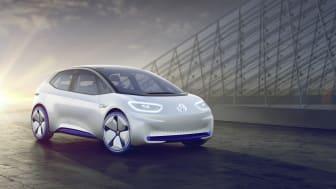 Eldrivna ID. kan förbokas från och med 8 maj. Bilen på bilden är en konceptbil.