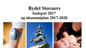 Forsiden på Bydel Stovners vedtatte budsjett