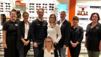 Idag öppnar Synoptik en ny butik på Torp köpcentrum i Uddevalla.
