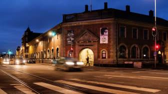 Toldkammeret i Helsingør danner ramme om et helt nyt programformat - Lyttesaloner - der går bag om podcast som fortælling og håndværk. Foto: Claus Bech.