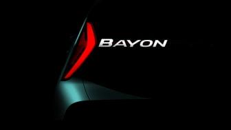 Hyundai Bayon - det senaste tillskottet i Hyundais europeiska SUV-familj.
