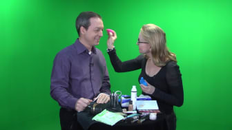 Video Savvy - Do men also need make-up on camera? (#2 of 6)