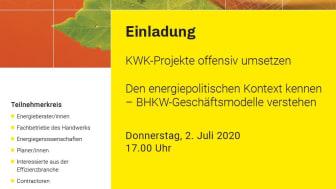 Anmeldungen zur Veranstaltung können online über die Webseite der KlimaschutzAgentur erfolgen