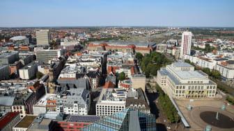 Leipzig - Blick über die Innenstadt