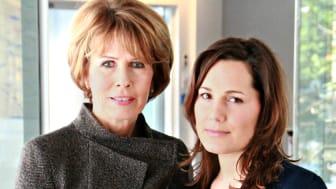 Gemeinsam gegen familiären Darmkrebs: Christa Maar und Janina Nottensteiner