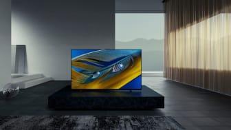 Sony BRAVIA XR A80J OLED TV med kognitiv intelligens snart tillgänglig i Europa