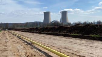 Nach der Abschaltung wird das KKW Grohnde mit Erdgas versorgt