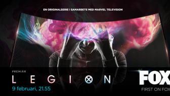 Marvels Legion premiär på FOX Sverige den 9 februari